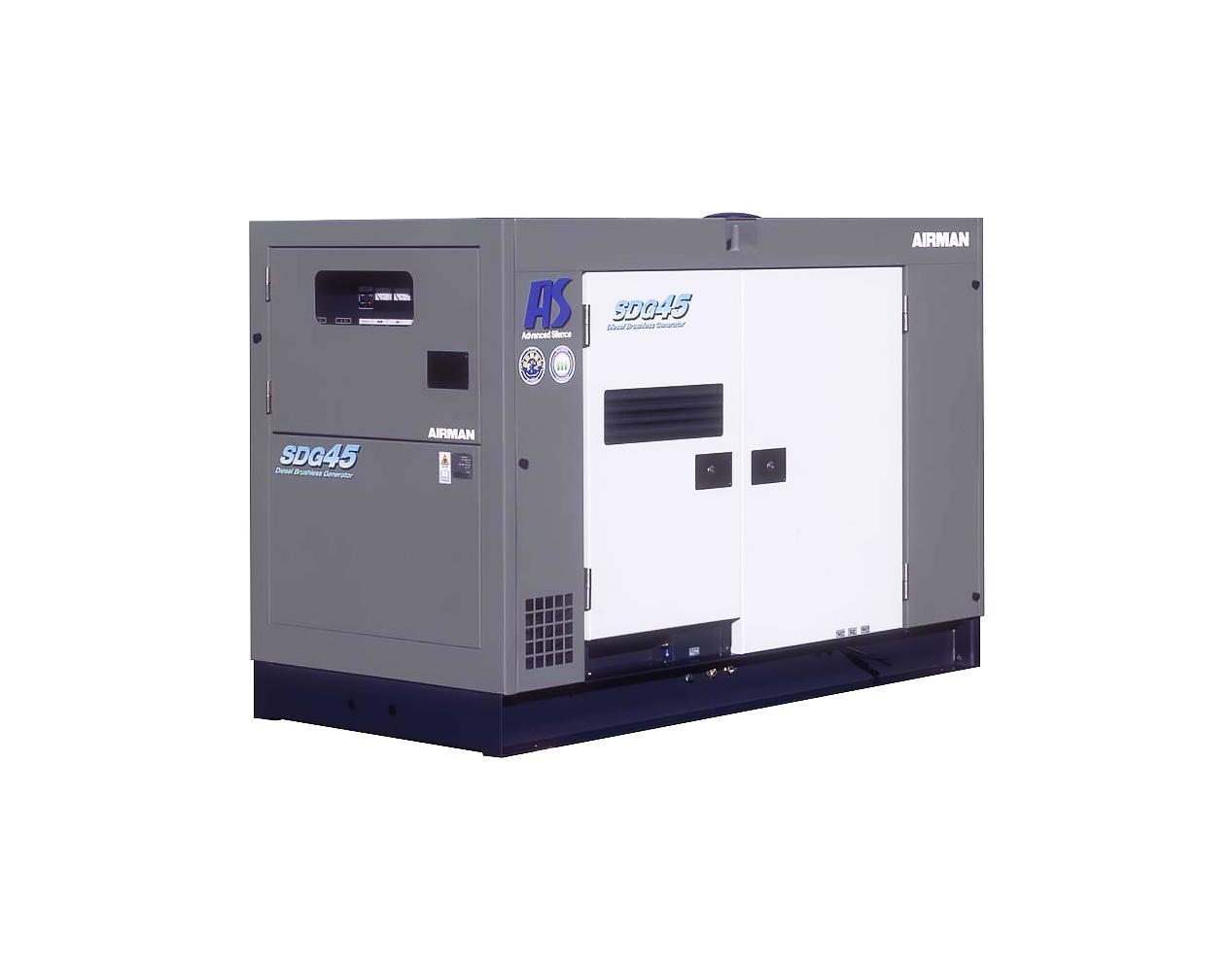 Дизельный генератор (электростанция) AIRMAN SDG45AS