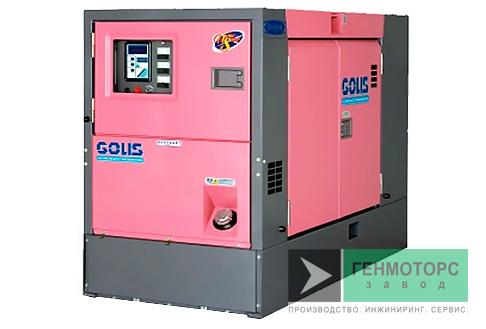 Дизельный генератор (электростанция) DENYO DCA-60USH2